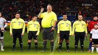 ⚽ FUNNY FOOTBALL REFEREES 2018 • FALL • TROLL • CRAZY MOMENTS