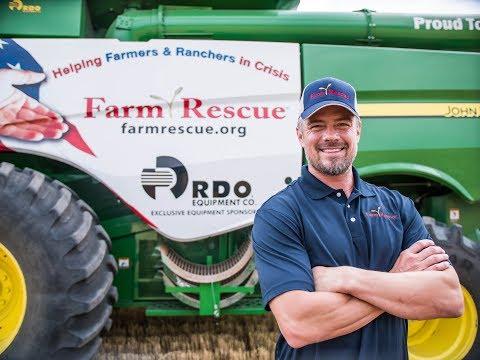 FARM RESCUE VOLUNTEER  Josh Duhamel