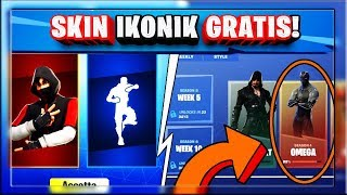 HOW TO GET THE SKIN IKONIK FOR FREE! OMEGA SBLOCKS!? | FORTNITE SEASON 8