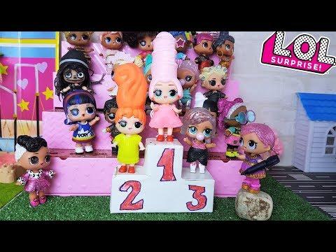 ПОДДЕЛКИ ЛОЛ КРУЧЕ ОРИГИНАЛА? Куклы лол сюрприз конкурс Лол! Мультики с куклами
