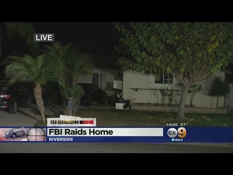 FBI Raids Riverside Home Next Door To Where Terror Suspect Once Lived