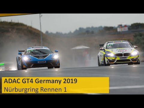 ADAC GT4 Germany Rennen 1 Nürburgring 2019 Re-Live Deutsch