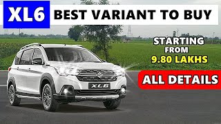 XL6 Ertiga : Variant explained | Nexa XL6 all details | best variant to buy ? | ASY