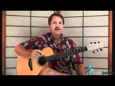 Solitary Man Guitar Lesson - Neil Diamond - Preview