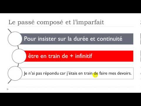 Learn French # The past tenses