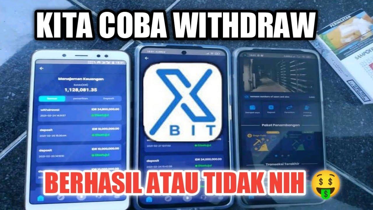 Cara WITHDRAW Xbit penghasil uang   Aplikasi penghasil ...