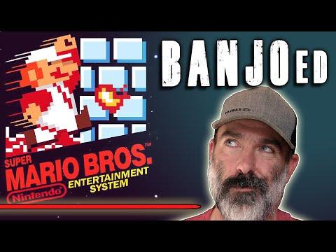Super Mario Bros ★ music cover by @banjoguyollie