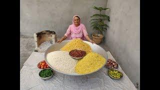 BHEL PURI RECIPE  STREET FOOD  ASMR CRUNCHY  BHEL PURI BY GRANDMA  INDIAN STREET FOOD
