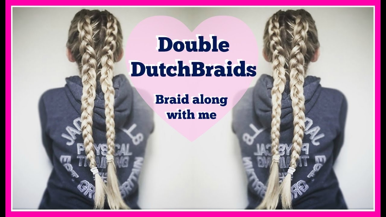 how to make double dutch braids