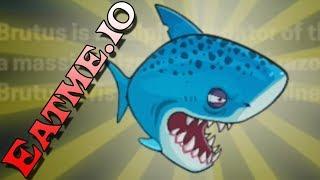ЗУБАСТАЯ АКУЛА ТРЕТИЯ ЭВОЛЮЦИЯ АКУЛЫ - Eatme.io Hungry fish fun game