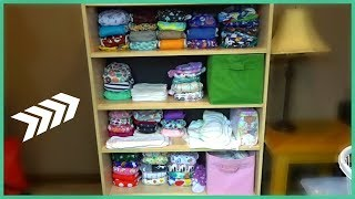 Gambar cover CLOTH DIAPER ORGANIZATION & STORAGE 2018 | MAGGIE THE MOMMY