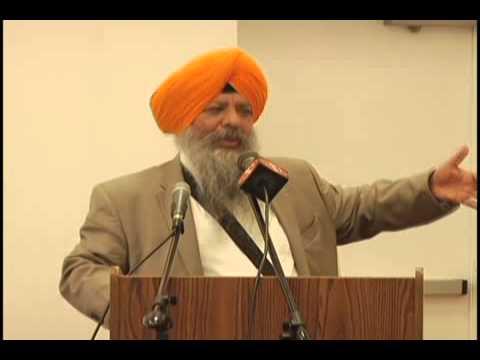Dr Amarjit Singh Speech on Shaheed Bhai Dilawar Singh at New Jersey Gurudwara