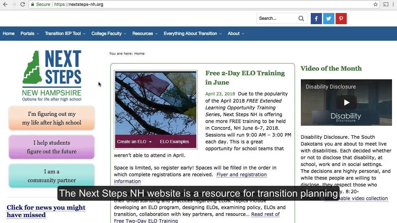 Free Transition Workshop In Concord >> Next Steps Nh