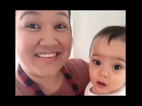 Alexis and Baby Zen make Feta Pasta