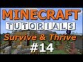 Minecraft Tutorials - E14 Redstone and Slimes! (Survive and Thrive II)