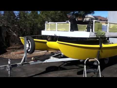 Hobie Cat 16 Electric Pontoon Fishing Boat