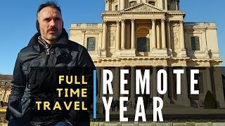 FULL TIME TRAVEL: Why I Chose REMOTE YEAR to Start Traveling the World