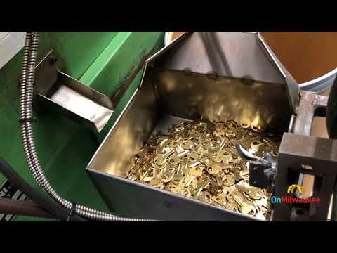 Sights & sounds: Master Lock factory in Milwaukee