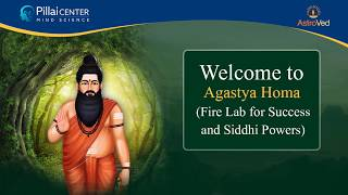 Agastya Homa (Fire Lab for Success and Siddhi Powers)