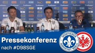 Video Gol Pertandingan Darmstadt 98 vs Eintracht Francoforte