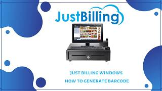 How to create barcode for a product ? new product, you need log into just billing application in your desktop. 1. from menu navi...