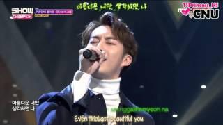 [ENG SUB/Lyric] 160217 MBC Show Champion - SS301 (더블에스301) - 바빠서 미안해 (I