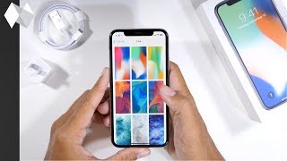 iPhone X Exclusive Wallpapers (iOS 11.2)