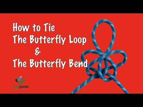 The FASTEST & EASIEST way to tie the Alpine Butterfly Loop!!