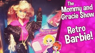 ♥ Vintage 1991 Barbie Doll Review | Rappin Rockin Barbie ♥