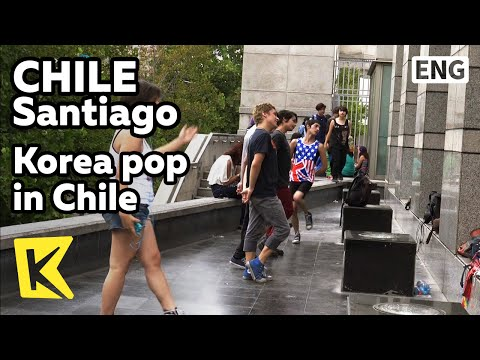【K】Chile Travel-Santiago[칠레 여행-산티아고]칠레 속 K-pop/Kpop/Dance/Gabriel Art Center