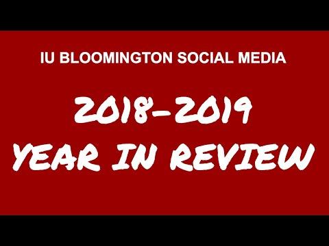 IU Bloomington Social Media Year-in-Review