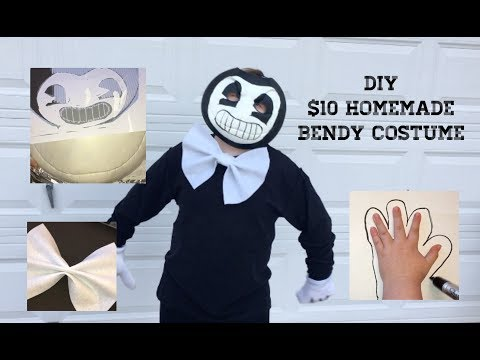 Bendy And The Ink Machine DIY Do It Yourself Costume Under $10!