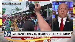 'Thank God': Homan Says Trump Is a 'Bulldog', Applauds Threat of Military at Southern Border