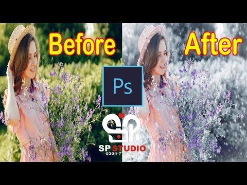 SNOW Effect Photoshop Tutorial   Photoshop cc 2019 thumbnail