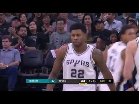 Charlotte Hornets vs. San Antonio Spurs - November 3, 2017