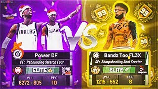 99 OVERALL SHARPSHOOTING SHOT CREATOR VS POWER DF! IS THIS THE BEST BUILD IN NBA 2K19? EXPOSURE