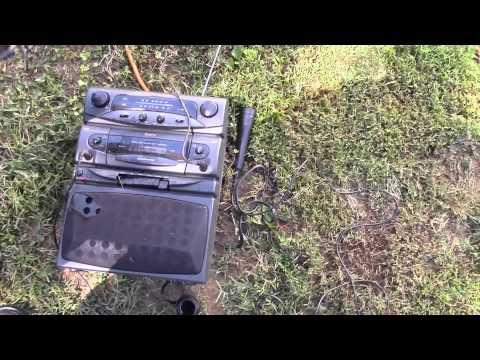 Karaoke Machine Destruction