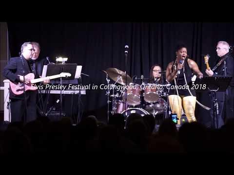 Elvis Festival Collingwood, Ontario, Canada July 2018