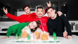 Download Best Friends Build A Gingerbread Dream House ft. Emma Chamberlain & Dolan Twins Mp3 and Videos