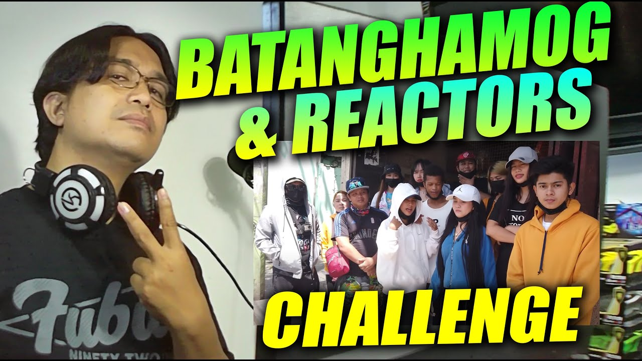 BATANG HAMOG & REACTORS CHALLENGE | SY Talent Entertainment | REACTION