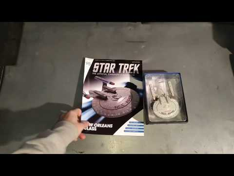 Star Trek Official Starship Collection, New Orleans Class Ship Model, Issue 95