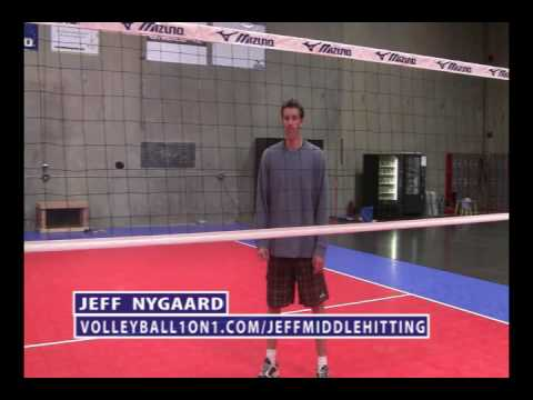 Volleyball Middle Hitting Technique