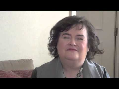 SUSAN BOYLE - VIDEO: Susan Boyle chats ahead of Sheffield show