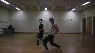 "Madonna - ""Girl Gone Wild"" Choreography by: Dejan Tubic & Janelle Ginestra"