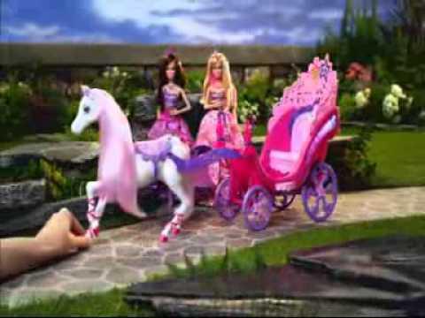 Barbie die Prinzessin und der Popstar Werbung Deutsch Pferd und