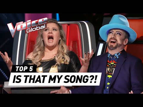 Cover Lagu The Voice | Talents who auditioned with a COACH SONG STAFABAND