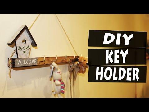 DIY How to Make a Key Holder | Let\'s DIY - YouTube