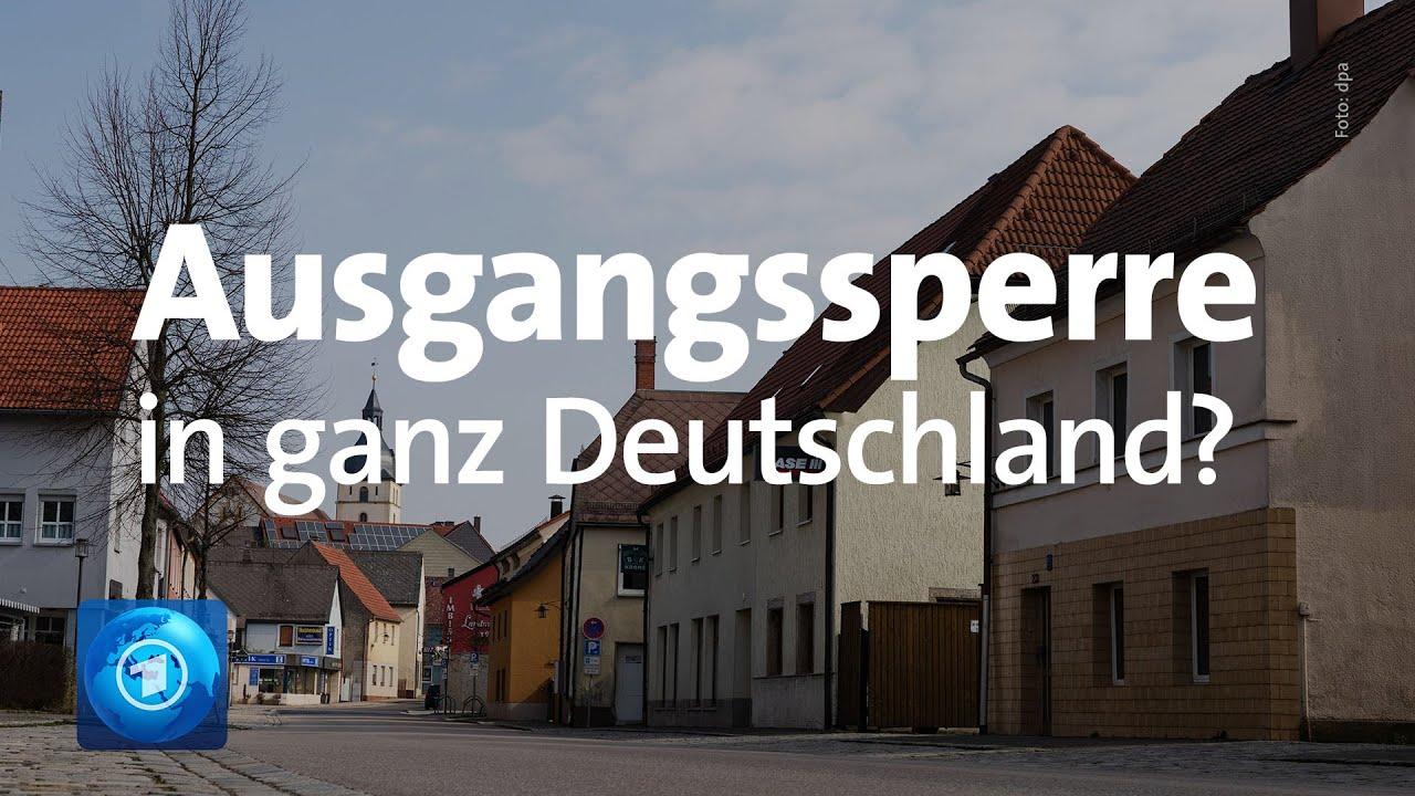 Ausgangssperre Deutschland