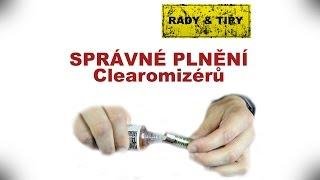 Plnění elektronické cigarety - Recenze (Review CZ) Elcigon.cz
