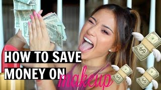 10 WAYS TO SAVE MONEY ON MAKEUP!